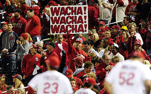 Michael Wacha, the MVP of the NLCS, has gained cult status in St. Louis. (USATSI)