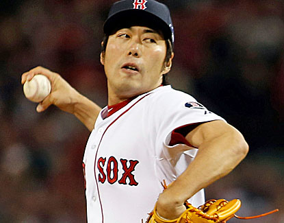 Boston's Koji Uehara shuts down the Tigers in the top of the 9th inning and takes home the ALCS MVP. (USATSI)