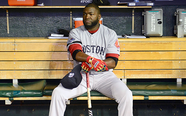 The NL's 'no DH' rule means Big Papi might have to ride the pine when Boston plays in St. Louis. (USATSI)