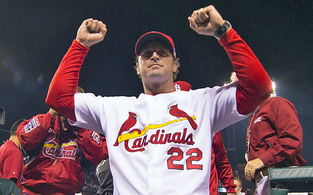 Mike Matheny might be a new-name manager, but he's nearly taken his Cards to back-to-back Fall Classics. (USATSI)