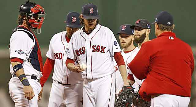 Clay Buchholz has not been particularly effective in the postseason. (USATSI)