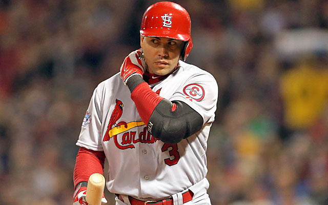 Carlos Beltran had quite the moment in his Fall Classic appearance. The Cards hope it's not his last. (USATSI)