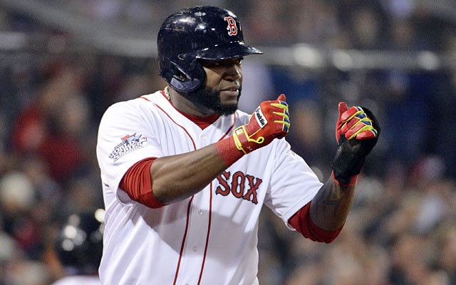 David Ortiz carried the Red Sox offense this Fall Classic with a .688 average and 1.948 OPS. (USATSI)