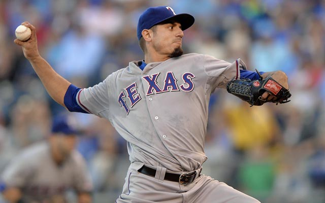 Could Matt Garza be wearing pinstripes next season? (USATSI)