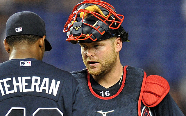 Interest from big-money AL teams will jack up the price for Brian McCann. (USATSI)