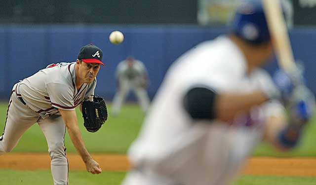 Numbers, accumulated in the steroid era, suggest Greg Maddux is the best-ever starter. (Getty Images)