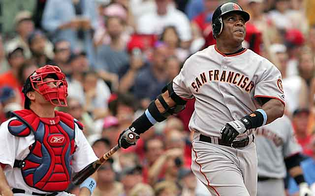Barry Bonds put up all-time great numbers, but his ties to PEDs taint his greatness.  (USATSI)
