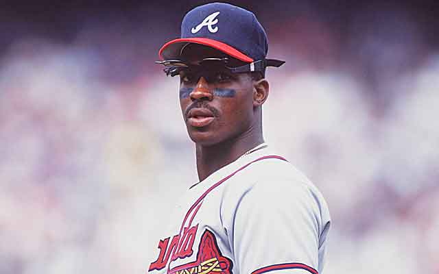 The bloated numbers of the Steroid Era have hurt Fred McGriff's Cooperstown case.  (Getty Images)