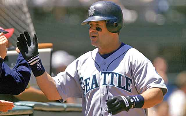 Edgar Martinez has an argument for best DH of all time.  (Getty Images)