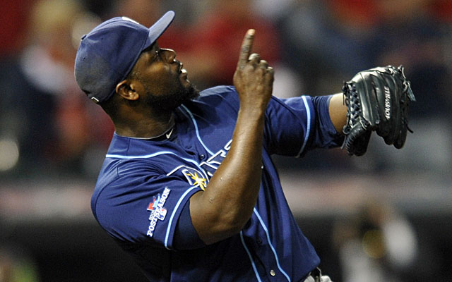 Now that the Rays have signed Grant Balfour, Fernando Rodney could find a home in Baltimore. (USATSI)