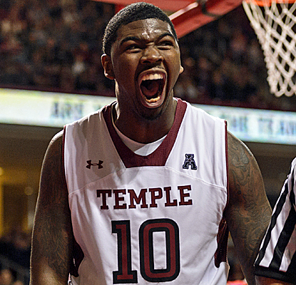 Temple is all fired up after the Owls knock off a Top-25 opponent for the first time since March of last year.  (USATSI)
