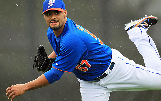 Former Cy Young winner Johan Santana hasn't pitched in a big-league game since Aug. 17, 2012. (USATSI)