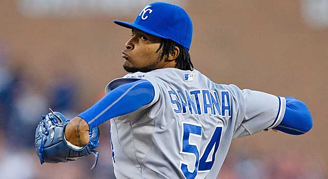 Ervin Santana's asking price is in line with what Matt Garza and Ubaldo Jiminez got. (USATSI)