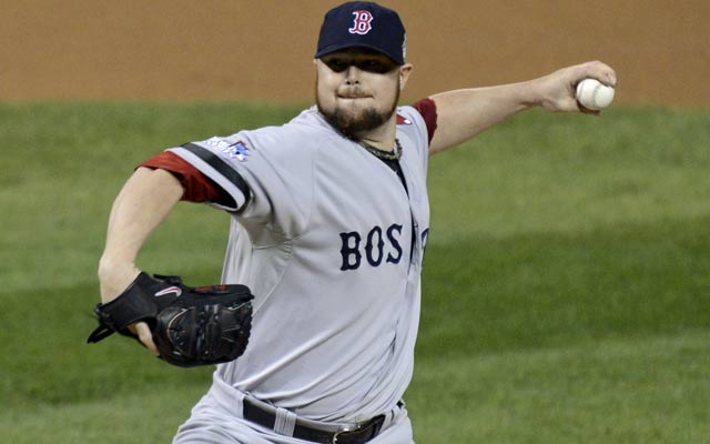 Jon Lester makes no bones about it: he wants to stay in Boston. (USATSI)