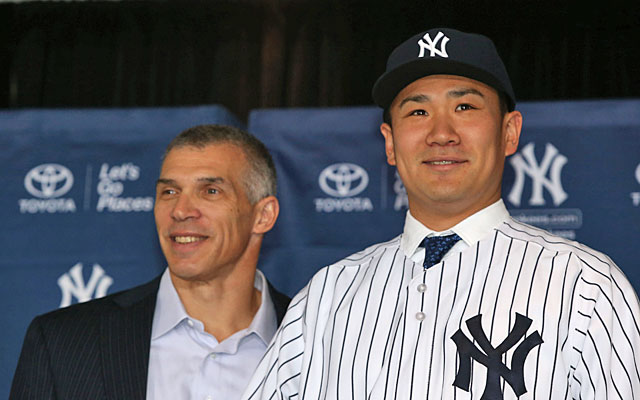 The Yankees' $155M signing of Masahiro Tanaka capped a $453M offseason free-agent spending spree. (USATSI)