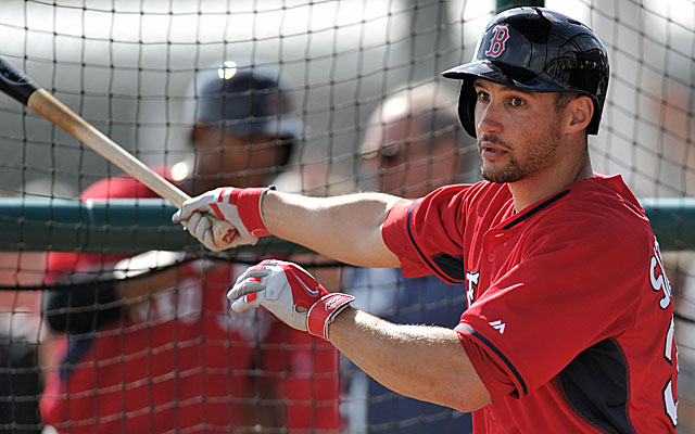 Grady Sizemore is pushing to be the successor to Jacoby Ellsbury in Boston. (USATSI)
