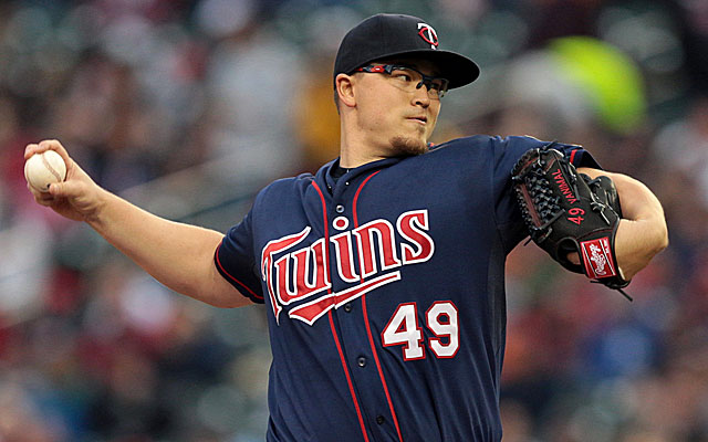 Vance Worley had been a candidate to crack the Twins' pitching rotation. (USATSI)