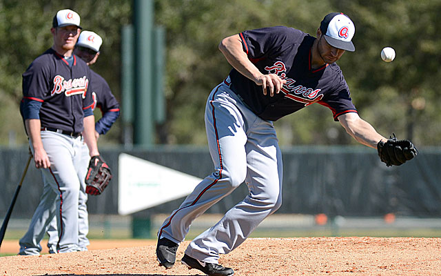 The ball hasn't bounced right for Brandon Beachy and the Braves so far this spring. (USATSI)