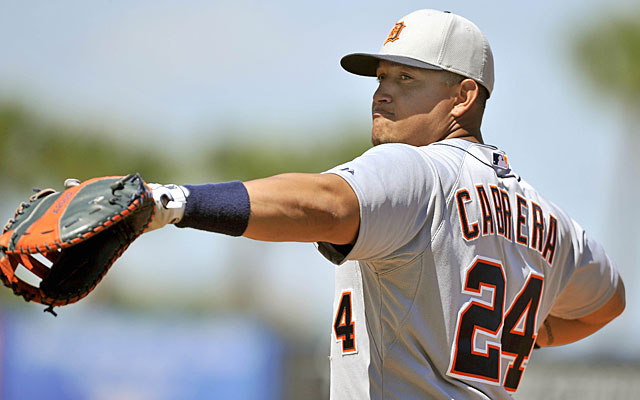 Two-time AL MVP Miguel Cabrera should be in line to top $27.5M per season. (USATSI)