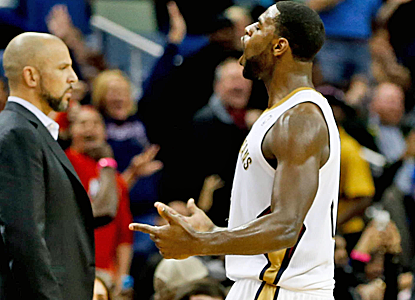 Tyreke Evans pours in a season-high 33 points, and the Pelicans storm back from 22 down to win in overtime.