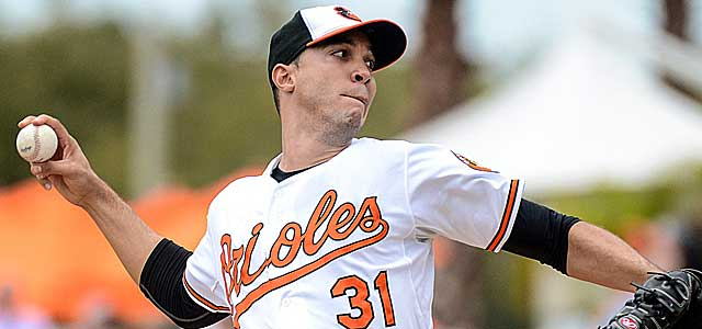 Ubaldo Jimenez bolsters a Baltimore rotation that could put the O's over the top. (USATSI)
