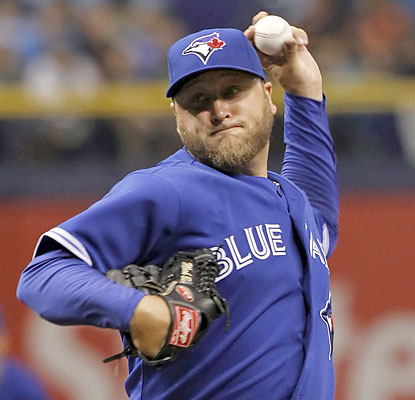 Mark Buehrle falls one out shy of a complete game, but still comes away with a very impressive victory. (USATSI)