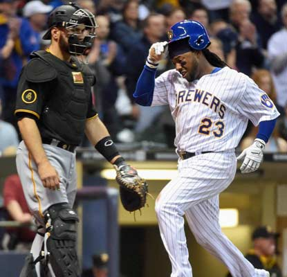 Rickie Weeks and the Milwaukee Brewers are on a roll, off to their best start (8-2) since 1987.  (USATSI)