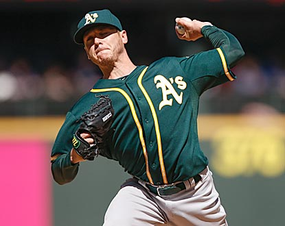 Scott Kazmir continues to endear himself with his new team, delivering his third quality start in as many appearances.  (Getty Images)