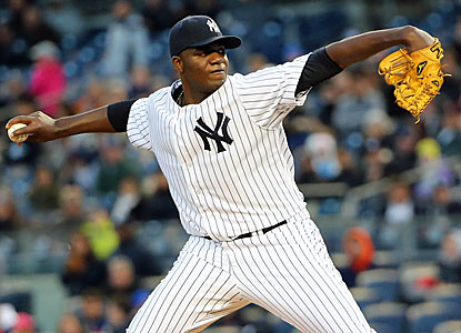 Michael Pineda is the second New York starter to shut out the Cubs, who finish 9 for 61 at the plate in the doubleheader. (USATSI)