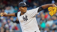 Yanks handling Pineda right