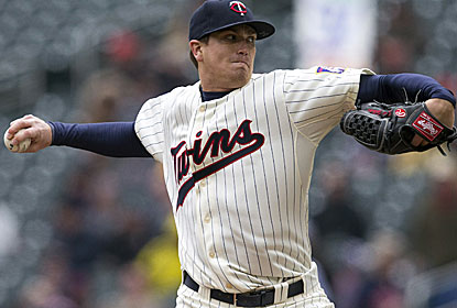 Kyle Gibson fires eight innings of 4-hit ball in 31-degree weather, the coldest start for an outdoor game in Twins history. (USATSI)