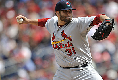 Lance Lynn wins his fourth straight start for the Cards, who benefit from three unearned runs against the Nats. (USATSI)