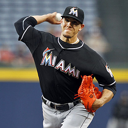 Jose Fernandez strikes out 14 batters, matching his career high as the Marlins shut out the Braves 1-0. (USATSI)