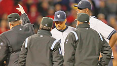 Pineda tossed for pine tar