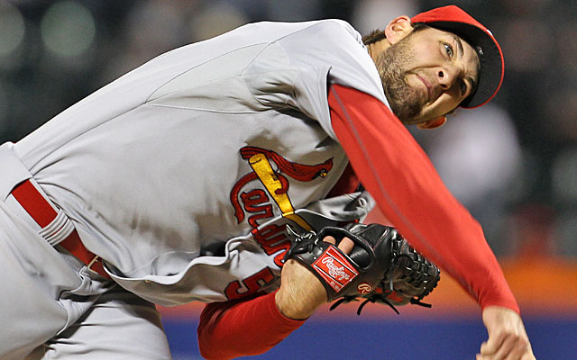 Young Michael Wacha is getting better and better at snapping off curveballs. (USATSI)