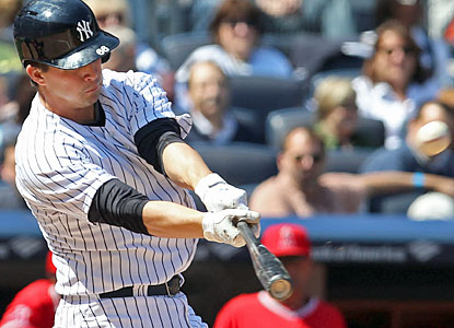 Recently called up to the majors, catcher John Ryan Murphy comes through for the Yanks with his first big-league homer. (USATSI)