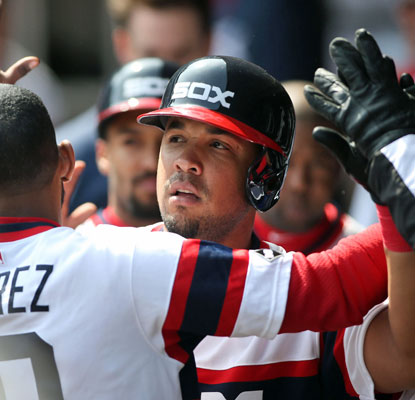 White Sox DH Jose Abreu sets a major league rookie record by racking up 31 RBI in the month of April. (USATSI)