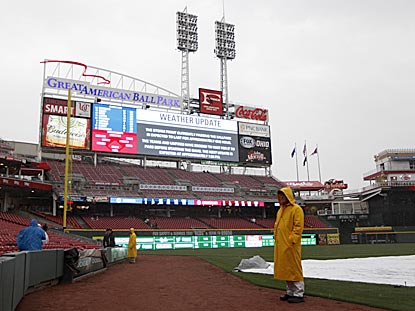 Cincinnati's rainy April continues, and there isn't much dry weather in the forecast this week.  (USATSI)