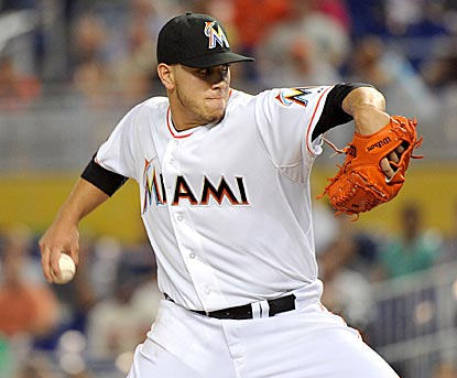 Jose Fernandez ends April with an MLB-high 55 strikeouts and an ERA of 1.59, but is denied a chance at his first complete game. (USATSI)