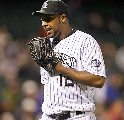 Juan Nicasio throws seven scoreless innings and even drives in three runs as the Rockies defeat the Mets.  (USATSI)