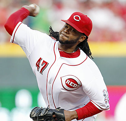 Johnny Cueto is the first Red to throw at least seven innings in each of his first seven starts since Bucky Walters in 1944. (USATSI)
