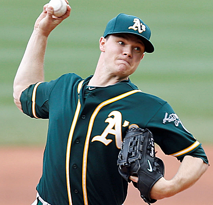 Sonny Gray gives up just two runs in six innings of work, and the A's get out of Boston with a win. (USATSI)