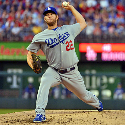Clayton Kershaw strikes out nine and pitches seven shutout innings in his return. (USATSI)