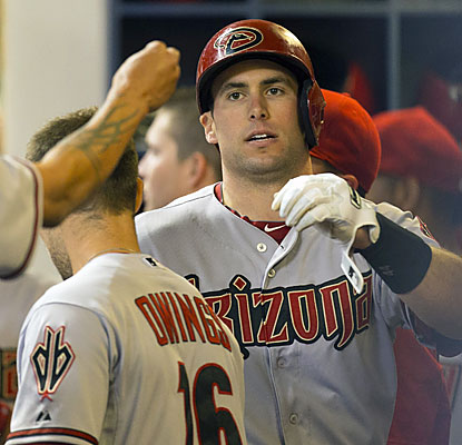 Paul Goldschmidt, who finishes 2 for 5 with a home run and two RBI, raises his batting average to .344. (USATSI)