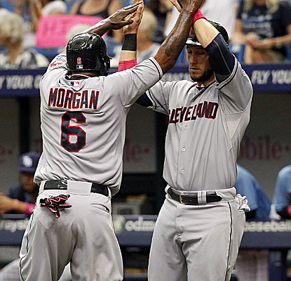 Nyjer Morgan tallies three more hits, including a home run, to raise his batting average to .341.  (USATSI)