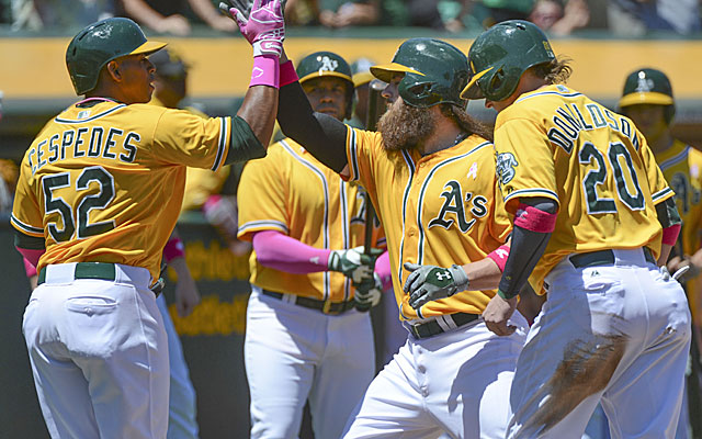 Fresh off a weekend drubbing of the Nationals, the A's welcome the surprising White Sox to town. (USATSI)