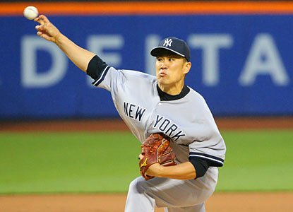 Masahiro Tanaka pitches a four-hitter against the Mets for his first major league shutout. (USATSI)