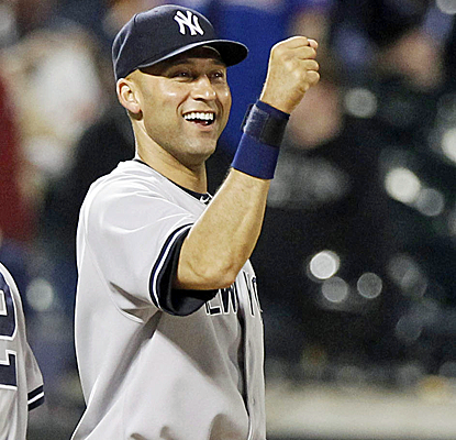 In Derek Jeter's final regular-season Subway Series game, the Yankees clip the Mets in a pitcher's duel.  (USATSI)