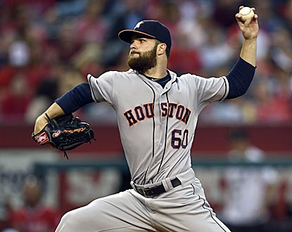 Dallas Keuchel barely misses notching back-to-back shutouts and settles for his fifth victory in his past eight starts.  (USATSI)