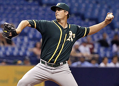 Drew Pomeranz improves to 3-0 since moving out of the bullpen. The A's lefty has not allowed a run in his three starts. (USATSI)